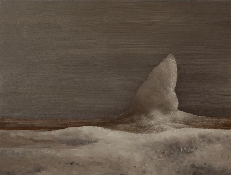 Swan. 45 x 60cm. Oil on canvas