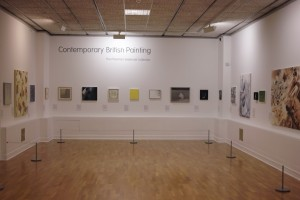 Contemporary British Painting Installation, Huddersfield