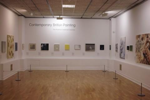 Contemporary British Painting Installation, Huddersfield