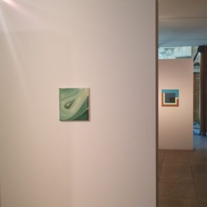 Amanda Ansell Same Patch. 34 Painters. Installation photo with Mary Webb.