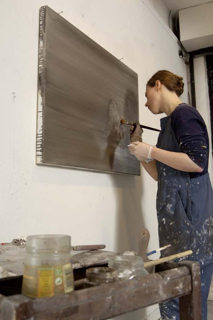Amanda Ansell Portrait. Artist in Residence
