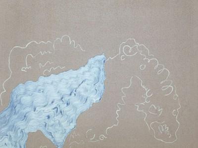 Morning Freshness 4. Oil on canvas. 47 x 47cm. Amanda Ansell