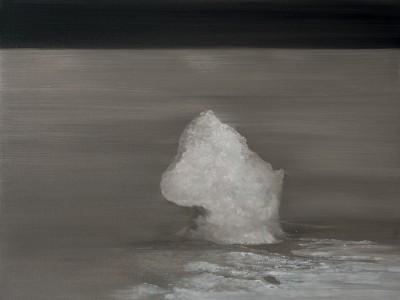 Rock. Oil on canvas. 45 x 60cm. Priseman Seabrook Collection. Amanda Ansell