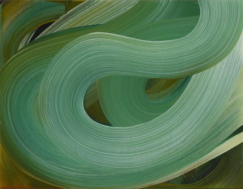 Clouds 2017 35x45cm Oil on canvas. Amanda Ansell