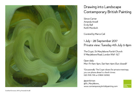 Drawing Into Landscape. Contemporary British Painting