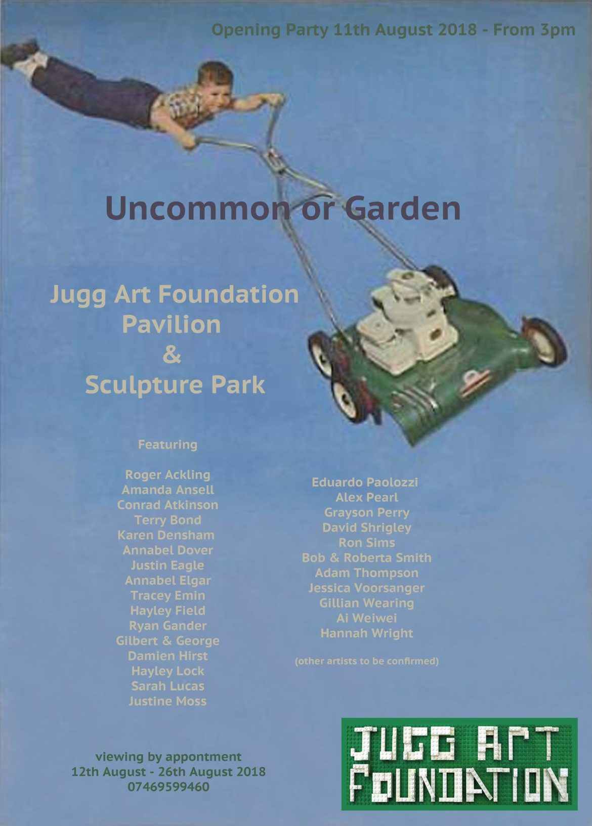 Uncommon or Garden, Jugg Art Foundation, at the Ipswich Biennial