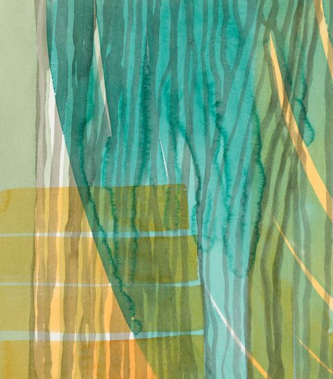 Amanda Ansell_Riverine 3_watercolour_48x42cm