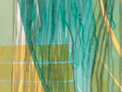 Amanda Ansell_Riverine 3_watercolour_on bamboo paper_48x42cm