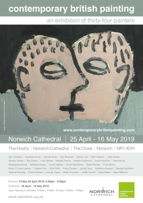 An Exhibition of 34 Painters. Contemporary British Painting Exhibition.
