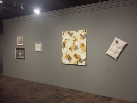 Made in Britain – 82 Painters of the 21st Century. Amanda Ansell. Rock, installation shot