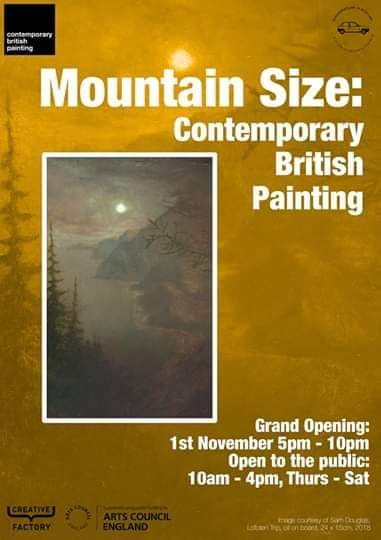 Mountain Size Contemporary British Painting