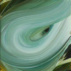 Amanda Ansell. Supernova_oil on canvas, 2020_30x30cm
