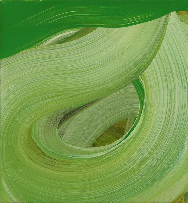 Arvensis_oil on canvas, 2020_30x28cm. Amanda Ansell